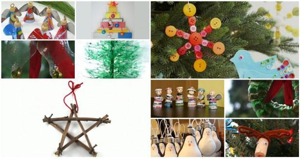 10 enfeites natalinos sustentáveis para você fazer