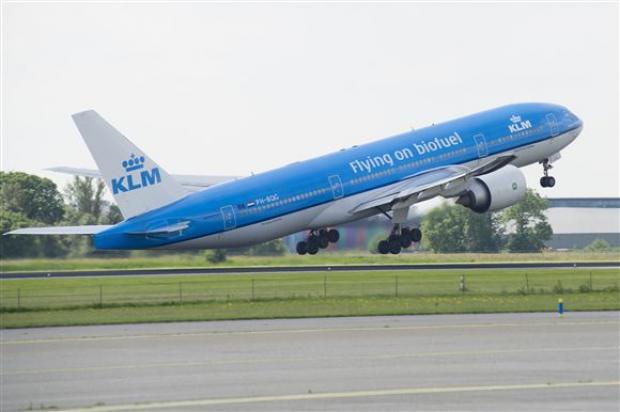 Companhia aérea holandesa realiza mais longo voo com biocombustível