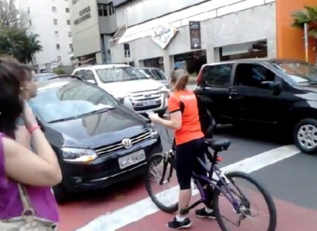 ciclistaSpciclovia