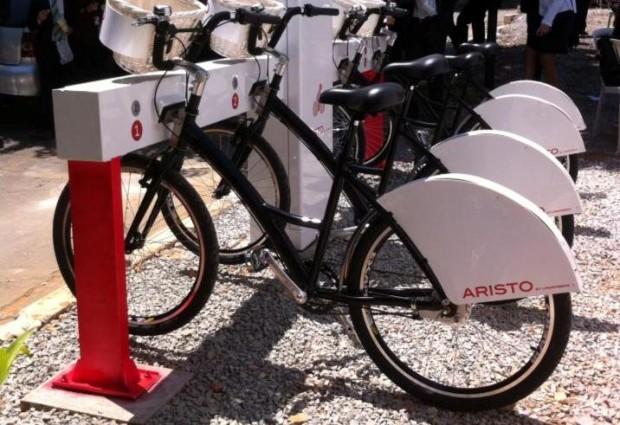 Empresa oferece compartilhamento de bikes para prédios