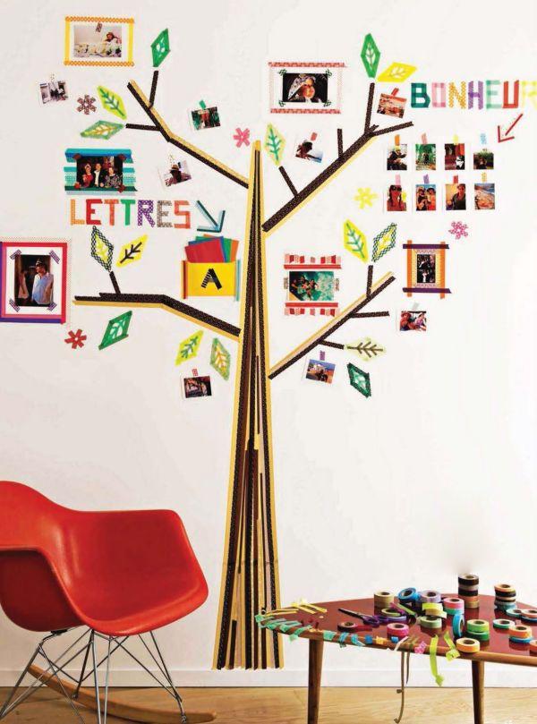 Aprenda a renovar uma mesa utilizando fita adesiva colorida
