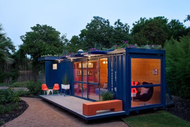 hill-container-studio-exterior-dusk