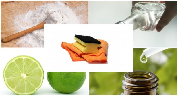 Kit de limpeza caseiro sem produtos químicos ou tóxicos | CicloVivo
