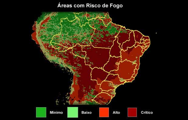 14 estados brasileiros e o Distrito Federal estão em emergência ambiental