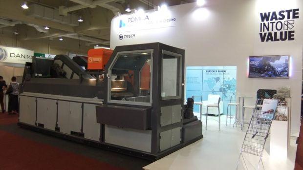 Máquina torna a separação de resíduos recicláveis mais rápida e eficiente