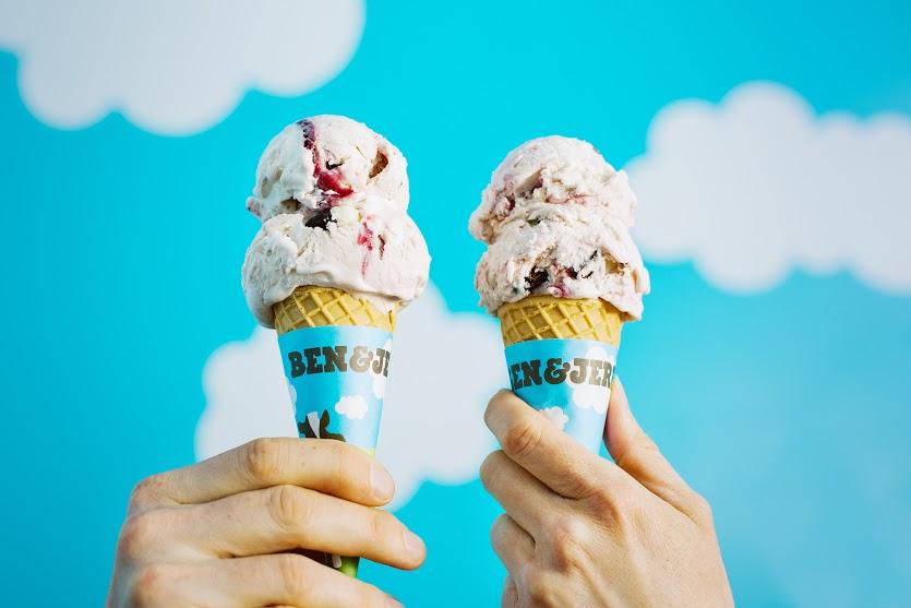 Ação da Ben & Jerry's troca sorvete por material escolar