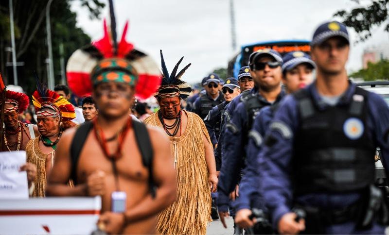 Casos de violência contra indígenas aumentaram 131%, aponta relatório