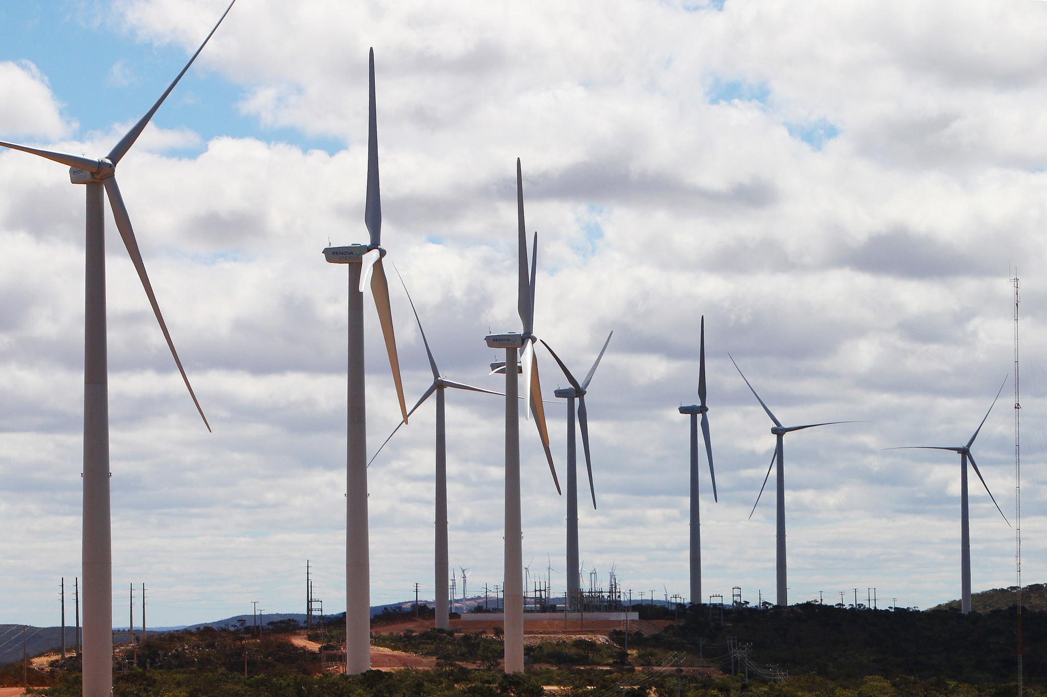 Brasil tem 10 GW de capacidade instalada para energia eólica