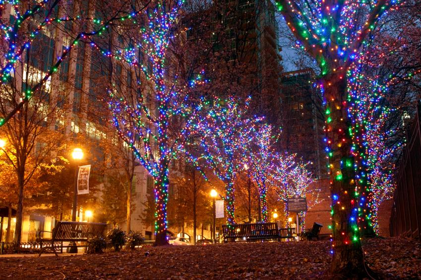 Luzes de natal nos EUA gastam mais energia do que a Etiópia em um ano inteiro