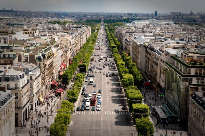 Paris velocidade