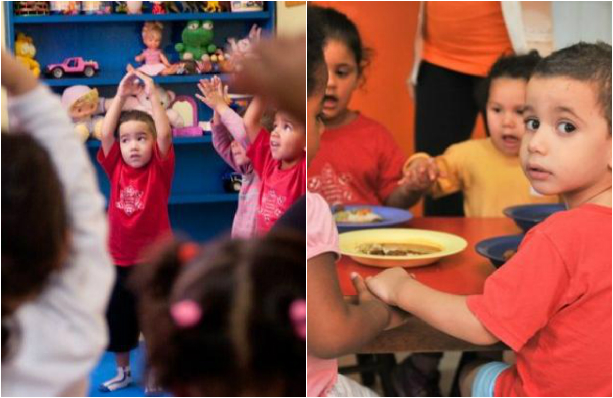 Creche municipal em SP tem ioga, meditação e merenda vegetariana