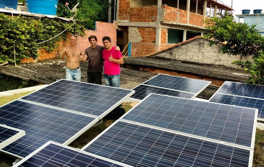 Projeto incentiva energia solar em comunidades do RJ
