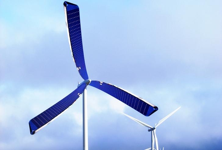 Cientista britânico projeta turbina eólica equipada com placas solares