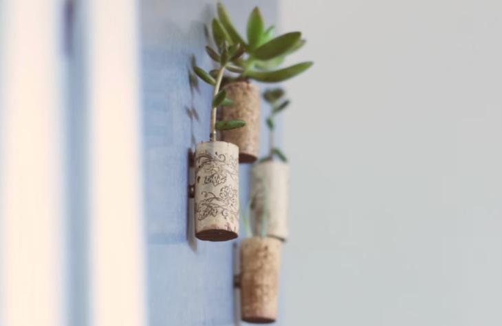 """Aprenda a fazer pequenos """"vasos-imãs"""" de suculenta"""
