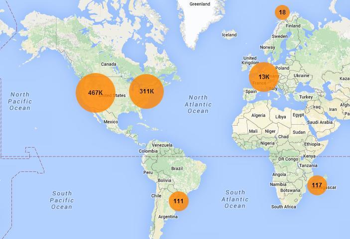 Mapa colaborativo lista hortas comunitárias em todo o mundo