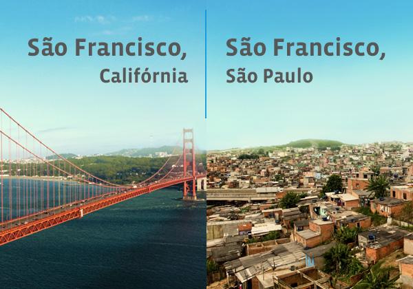 ONG apresenta realidade de favelas brasileiras com nomes de lugares famosos