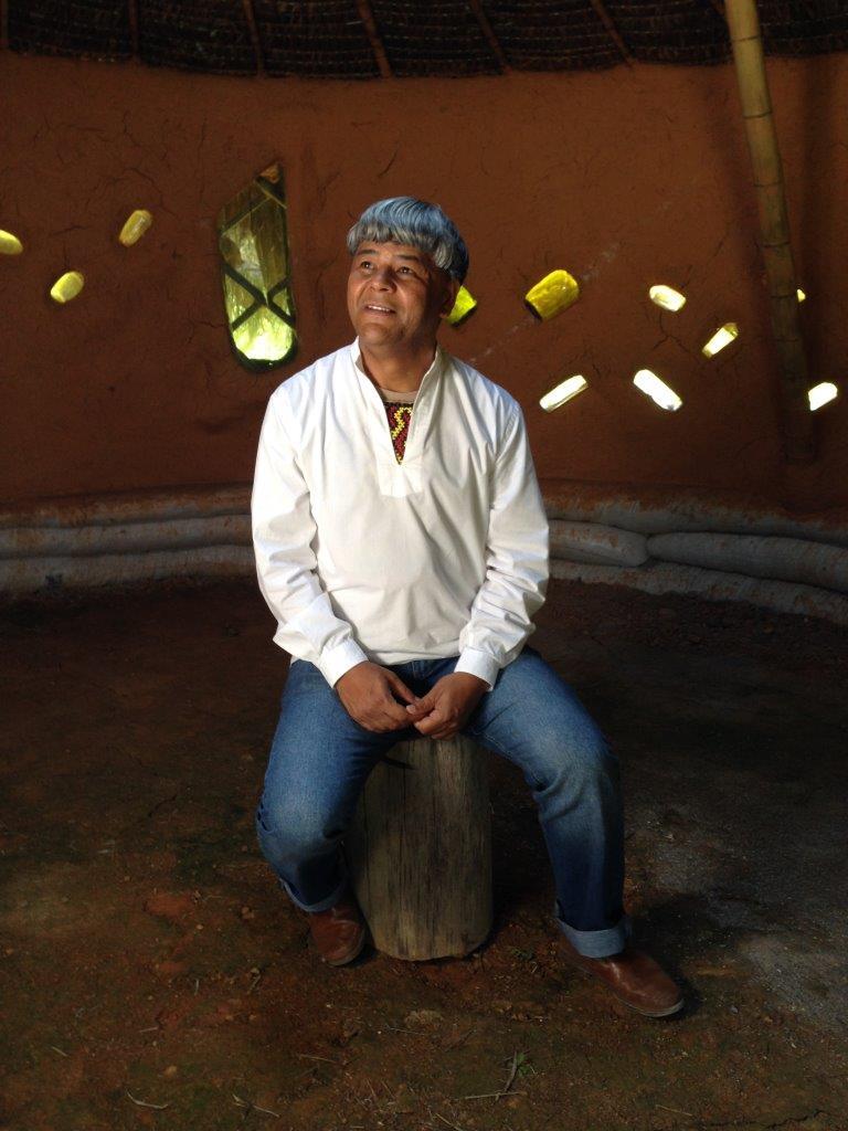 Escritor e empreendedor Kaká Werá Jecupé.   Foto: Airton Gontow