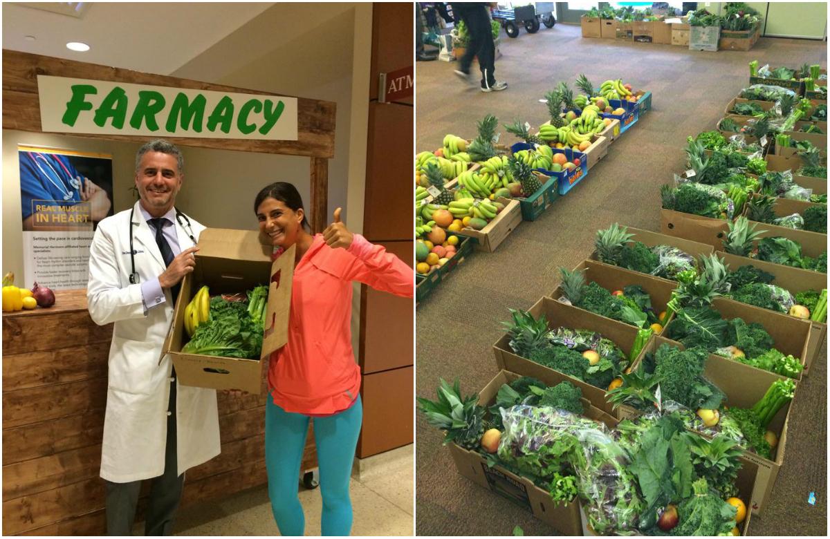 Médico norte-americano receita alimentos frescos no lugar de remédios