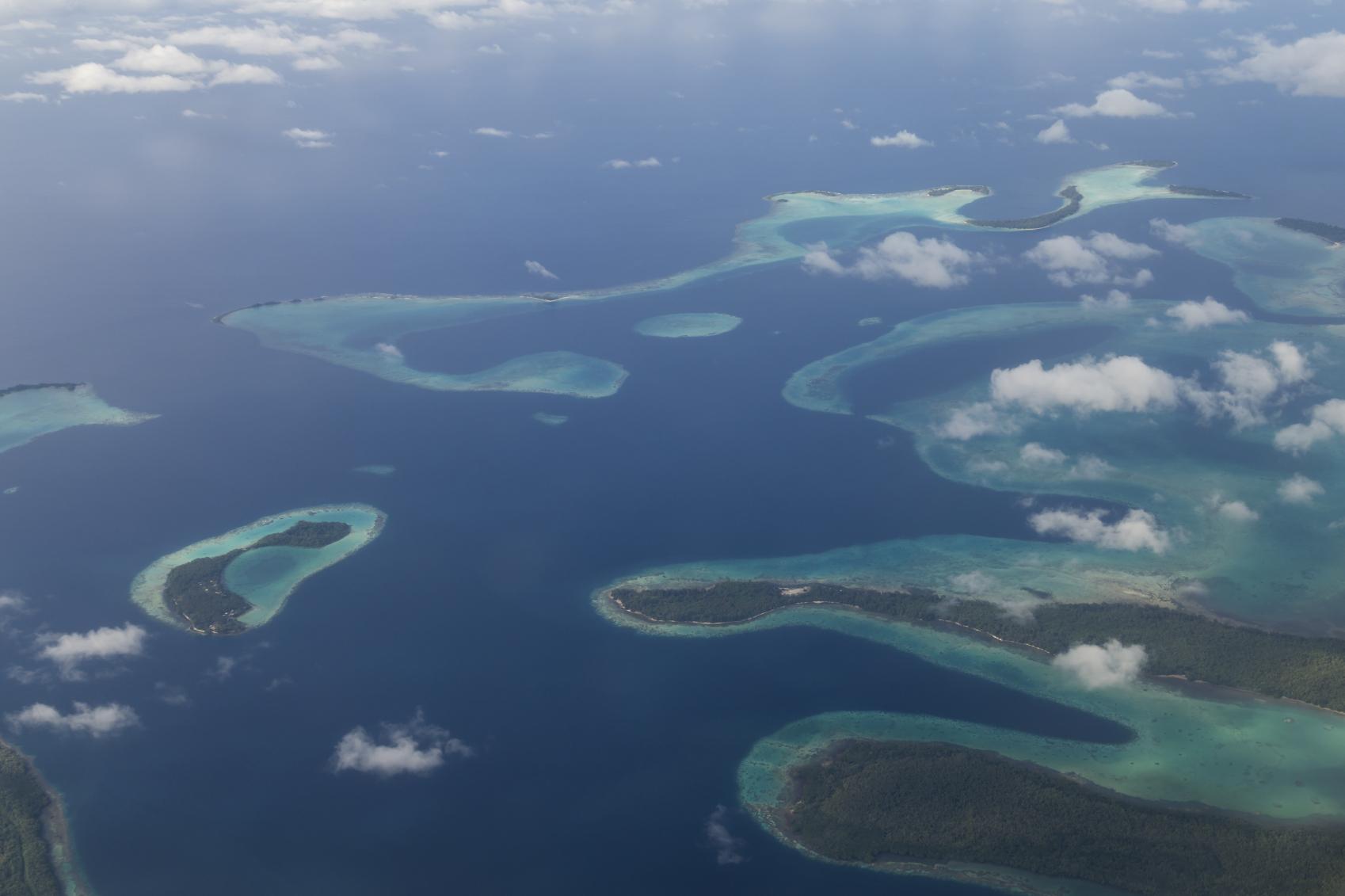 5 ilhas do pacífico já desapareceram devido ao aumento do nível do mar