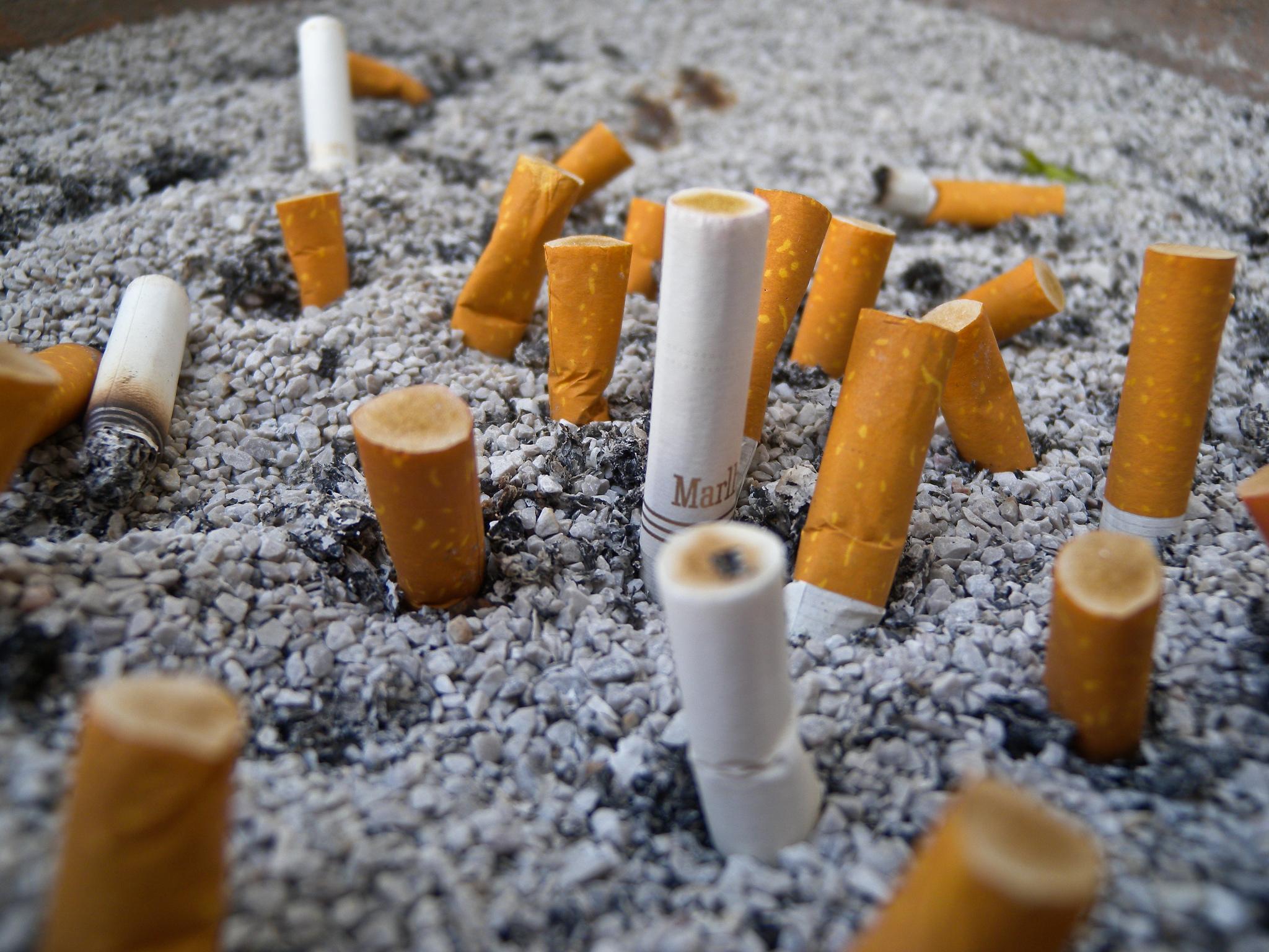 RJ aprova projeto de lei que obriga reciclagem de bitucas de cigarro