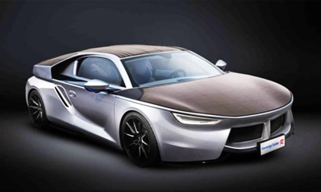 Película solar torna carros elétricos autossuficientes