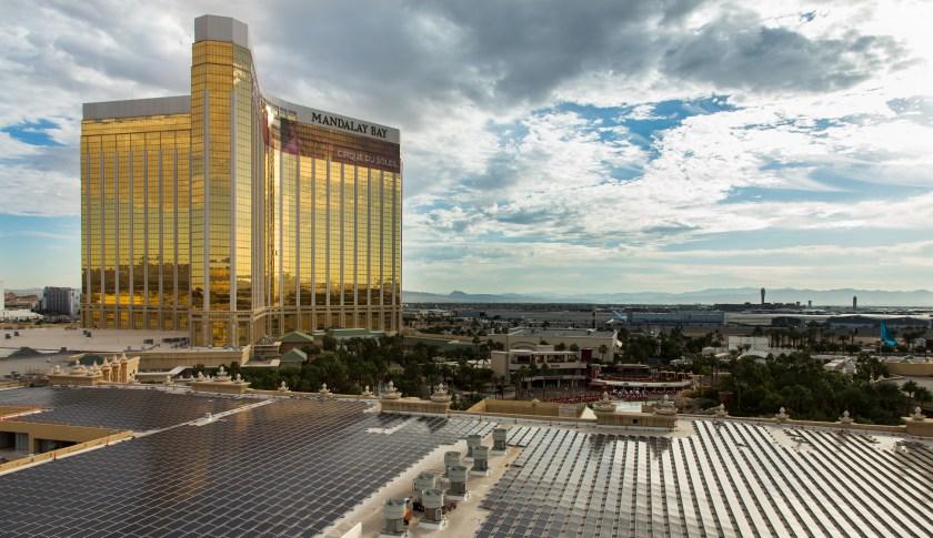 Hotel em Las Vegas tem um dos maiores telhados solar do mundo