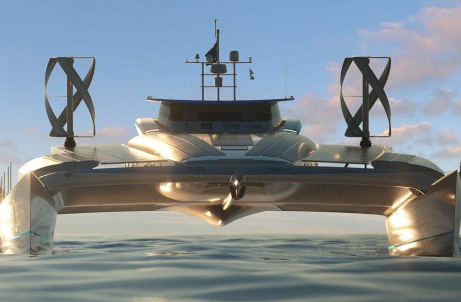 Barco movido a energia solar, eólica e hidrogênio deve dar volta ao mundo