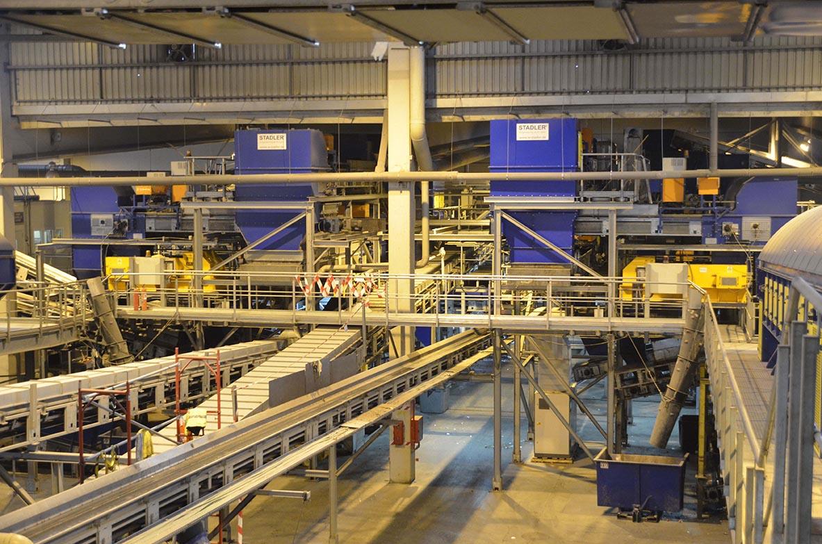 Central automatizada na Espanha é exemplo de eficiência em reciclagem
