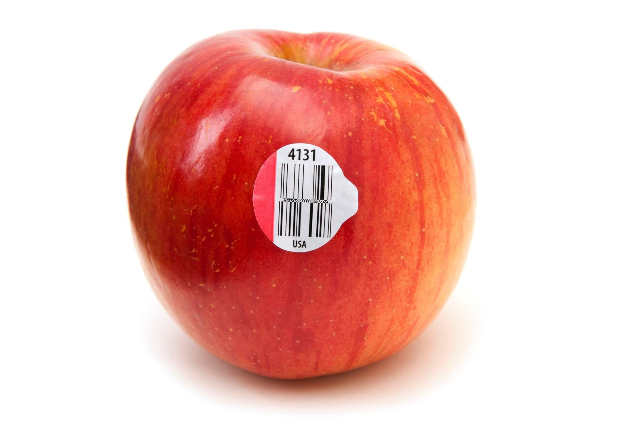 Entenda o que significam os números nas etiquetas de frutas e legumes