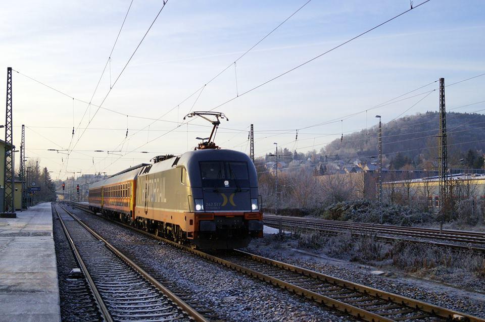 Alemanha ganha trem movido a energias renováveis e que serve alimentos orgânicos