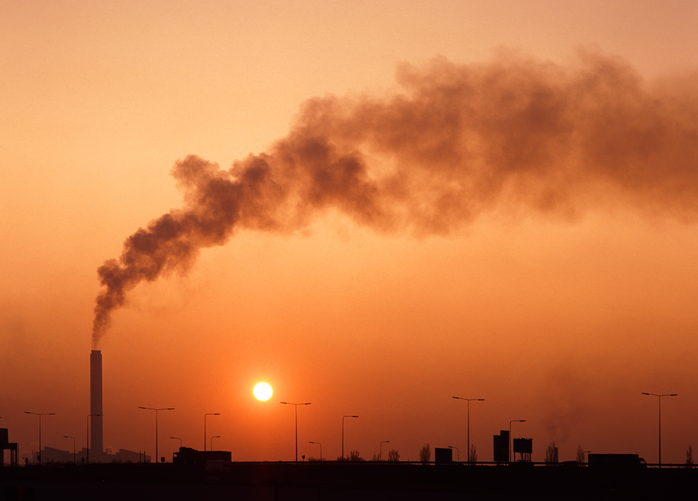 fumaça, calor, aquecimento global, poluição