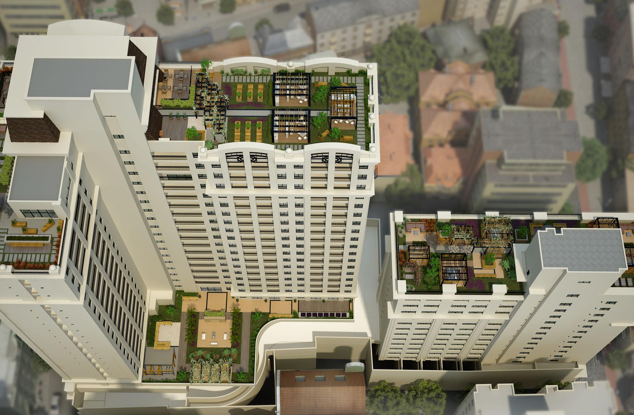 Prédios em Curitiba recebem telhado verde para reduzir ilhas de calor e poluição