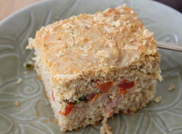 Aprenda a fazer torta integral com casca de chuchu