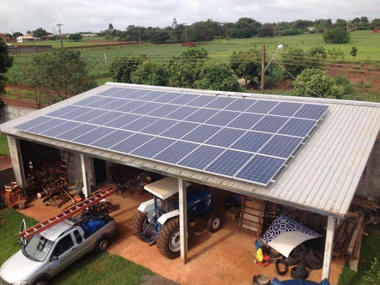 Programa público facilita o acesso de agricultores familiares à energia solar