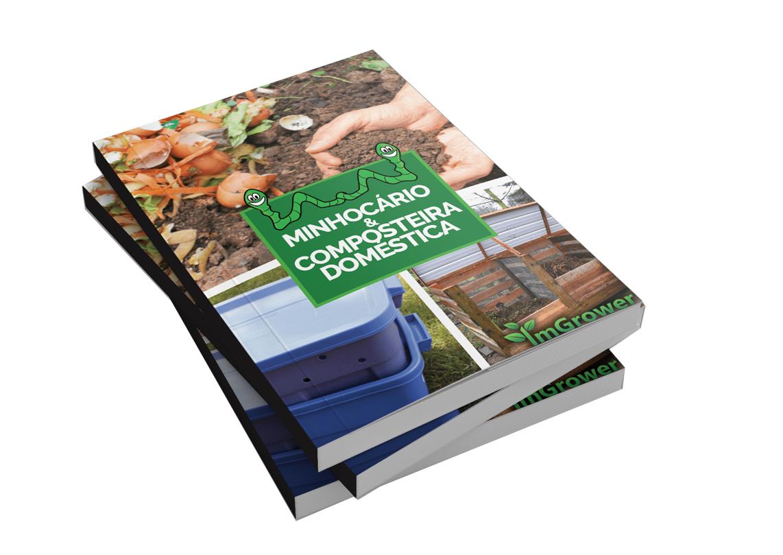 E-book gratuito ensina a fazer minhocário e composteira doméstica