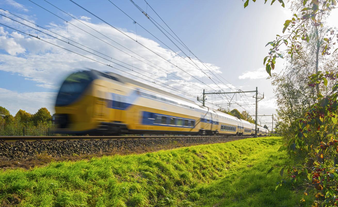 Trens elétricos na Holanda já são 100% abastecidos com energia eólica