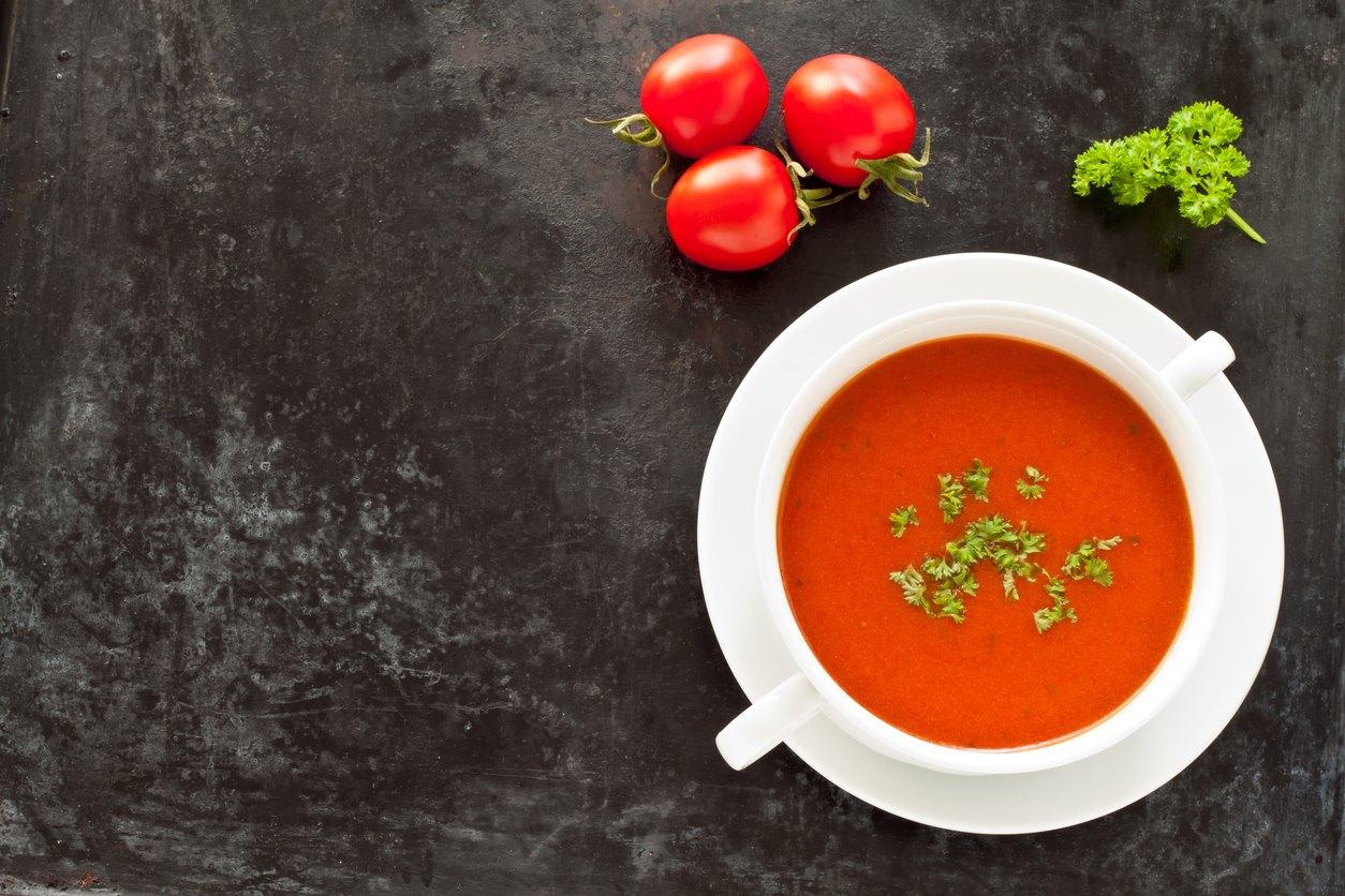 Creme de tomate para dias frios