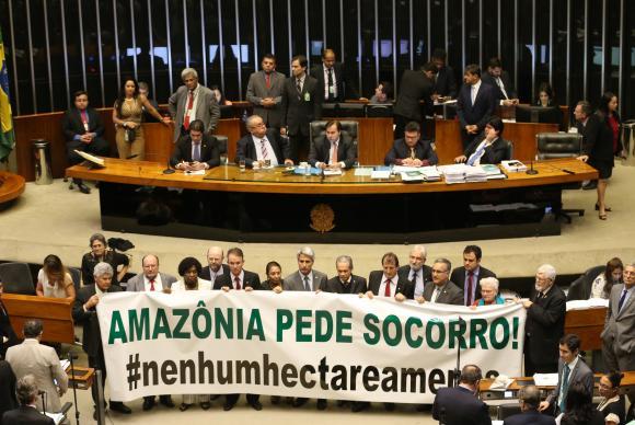 Deputados aprovam redução de quase 500 mil hectares de florestas protegidas