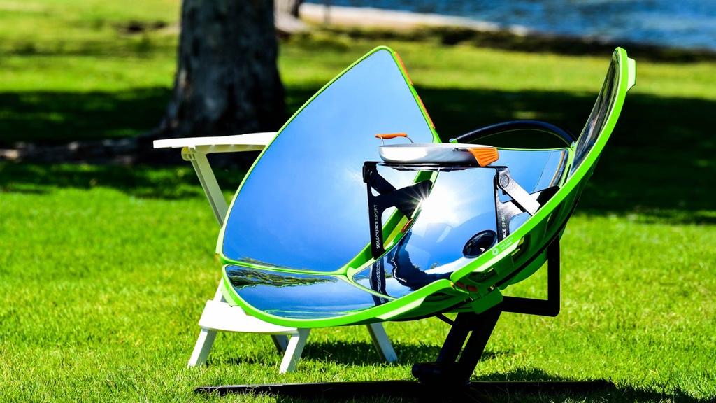 Com 149 dólares é possível adquirir um fogão portátil movido a energia solar