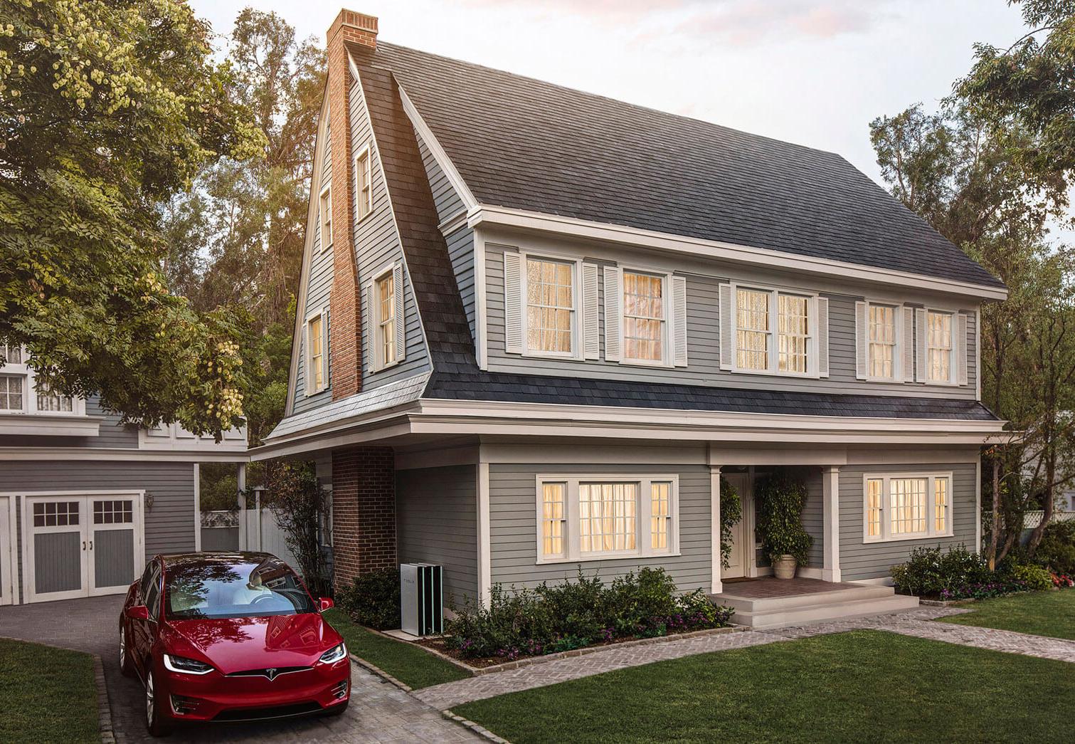 Tesla começa a vender seu telhado solar com garantia infinita