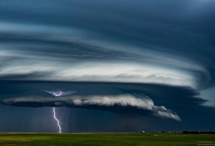 Time-lapse reúne seis anos de capturas de tempestades