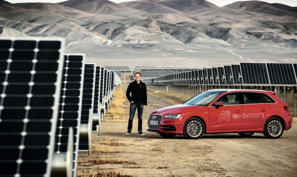 Audi vai lançar carro elétrico abastecido por energia solar