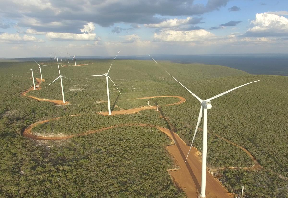 Parque eólico com capacidade de abastecer 390 mil lares é inaugurado na Bahia