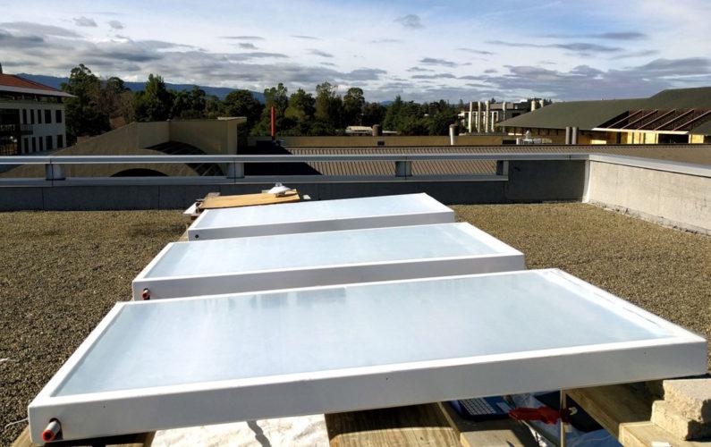 Professor cria telhado solar capaz de resfriar prédio