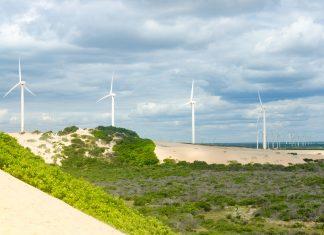 geração de energia eólica