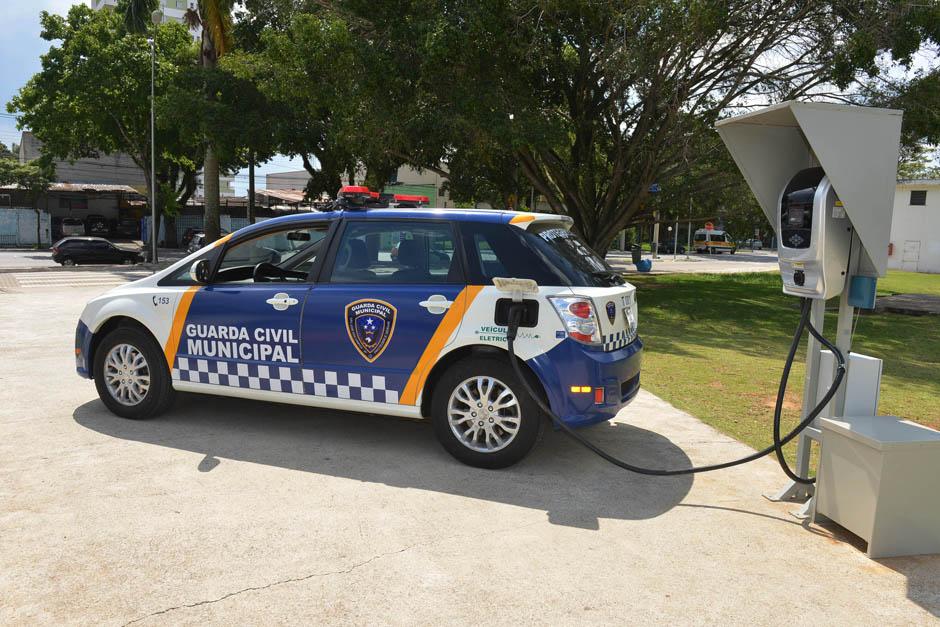 GCM de São José dos Campos ganha frota 100% elétrica