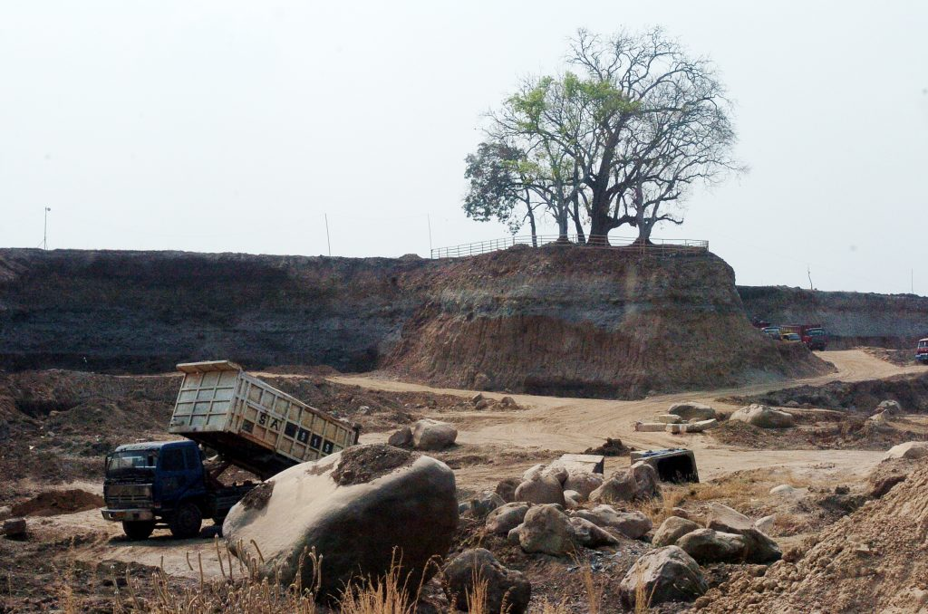 Destruição ambiental na Indonésia