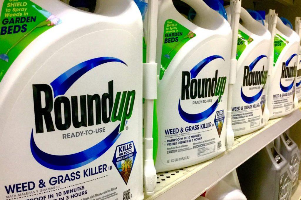 Produto químico herbicida Roundup