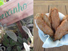 Receita de peixinho da horta empanado uma PANC