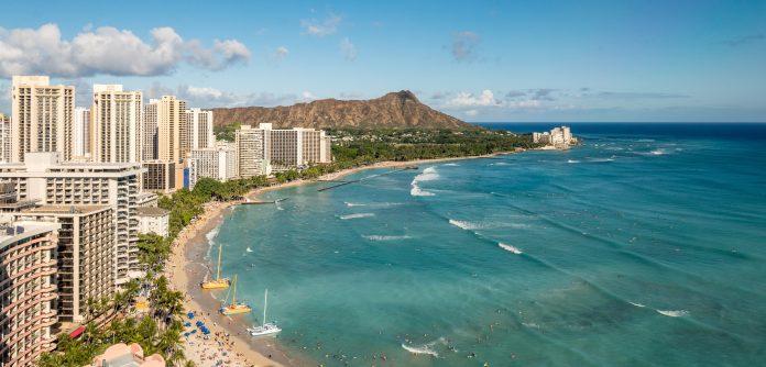 mar Honolulu no havaí
